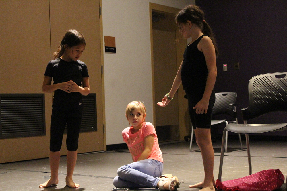 Students during acting class. Photo Credit: Autumn Wagman