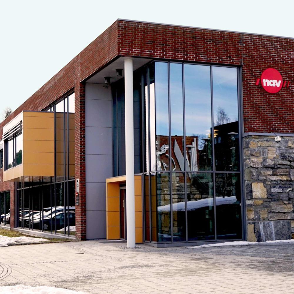 NAV Vestre Toten - 1500 m2 Rehabilitering / Tilbygg