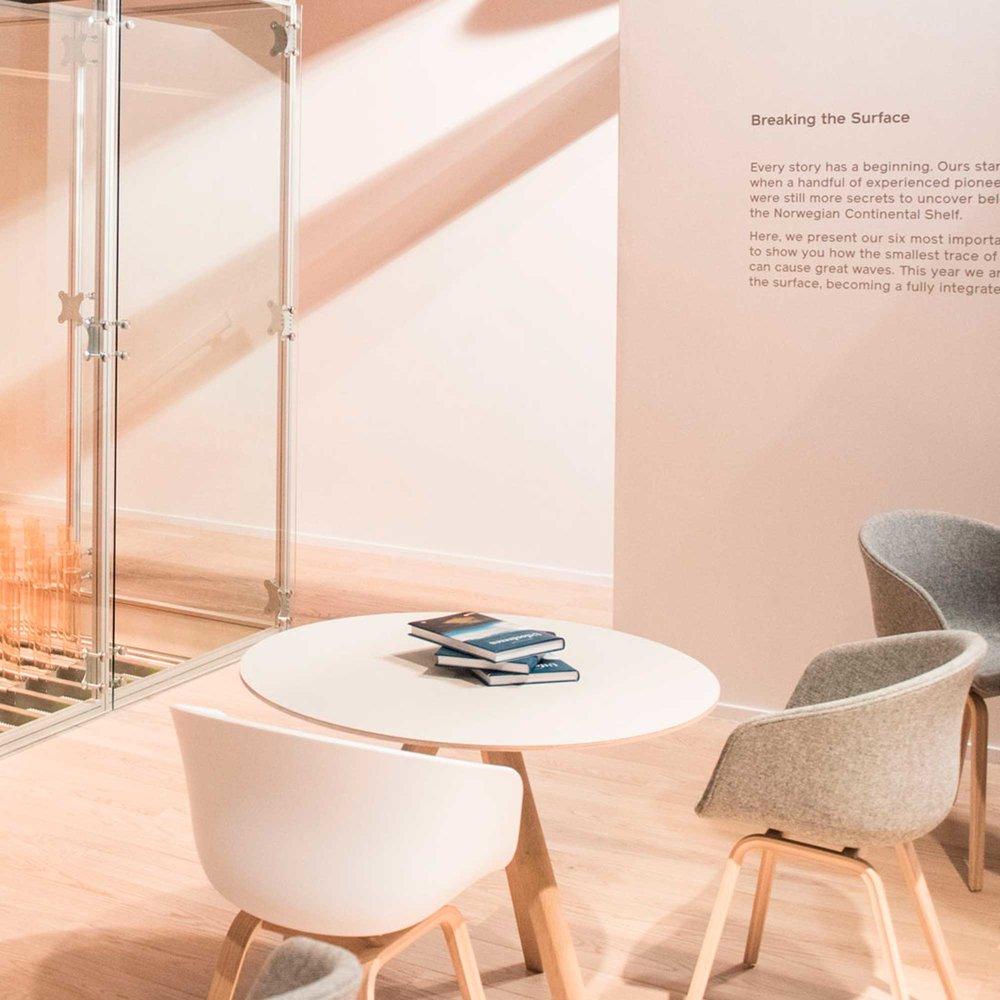 Breaking the Surface - Lundin installasjon Oljemessen Stavanger