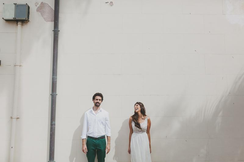 Urban Chic Wedding in Tel Aviv by Liron Erel 0100