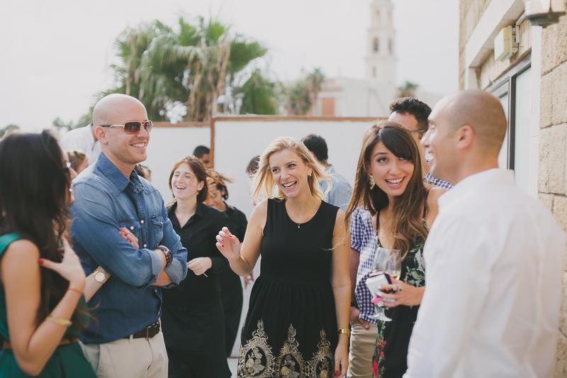 Urban Chic Wedding in Tel Aviv by Liron Erel 0143