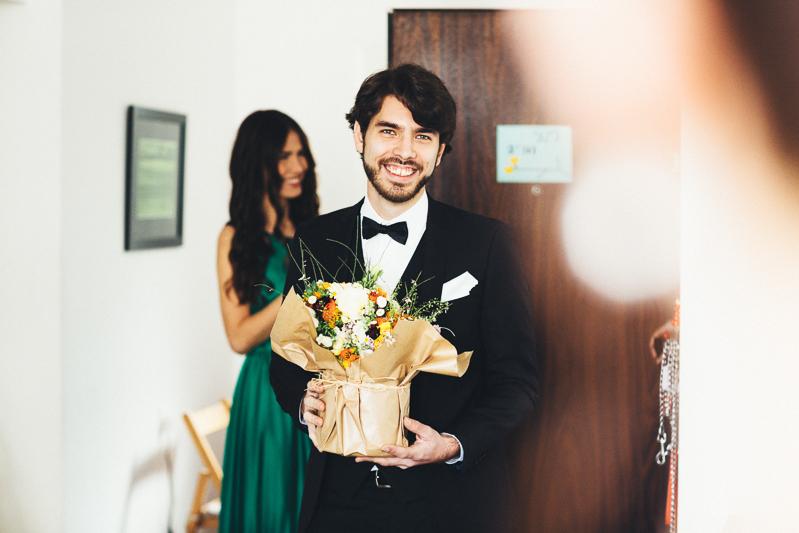מריה ורועי חתונה בבית על הים