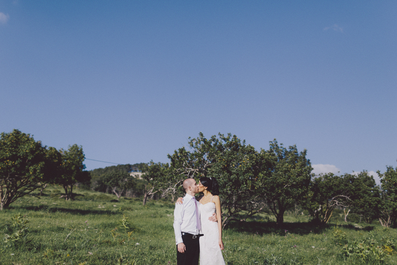 Shira & Guy's countryside wedding in Israel by Liron Erel