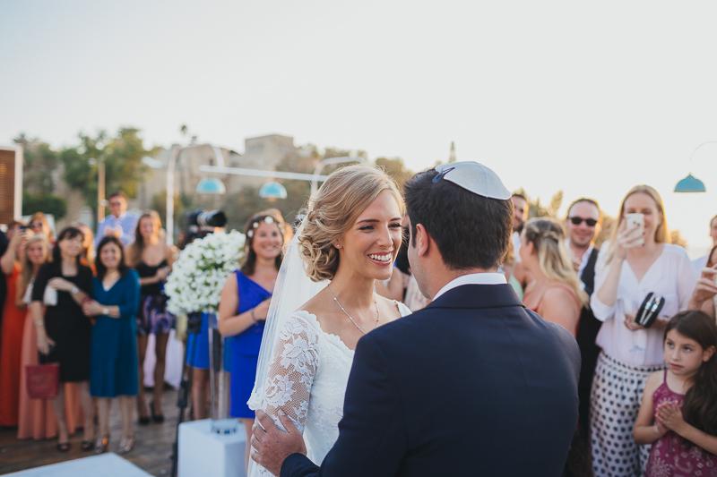 מלאני ודניאל חתונה בבית על הים לירון אראל צלם 0043