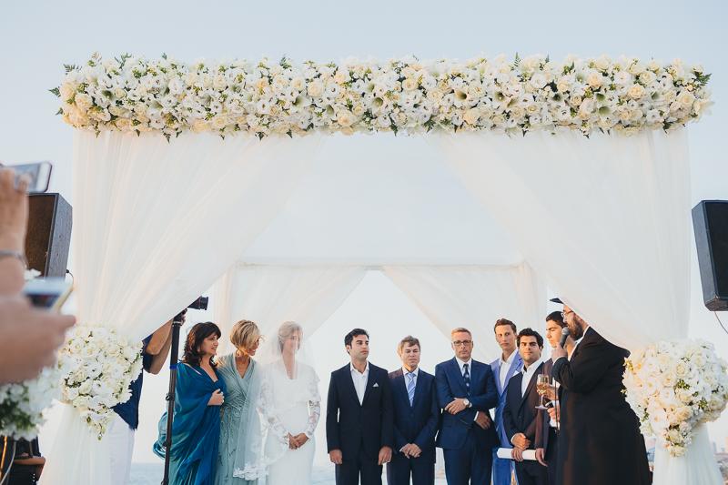 מלאני ודניאל חתונה בבית על הים לירון אראל צלם 0045