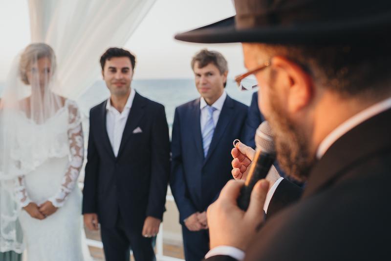 מלאני ודניאל חתונה בבית על הים לירון אראל צלם 0047