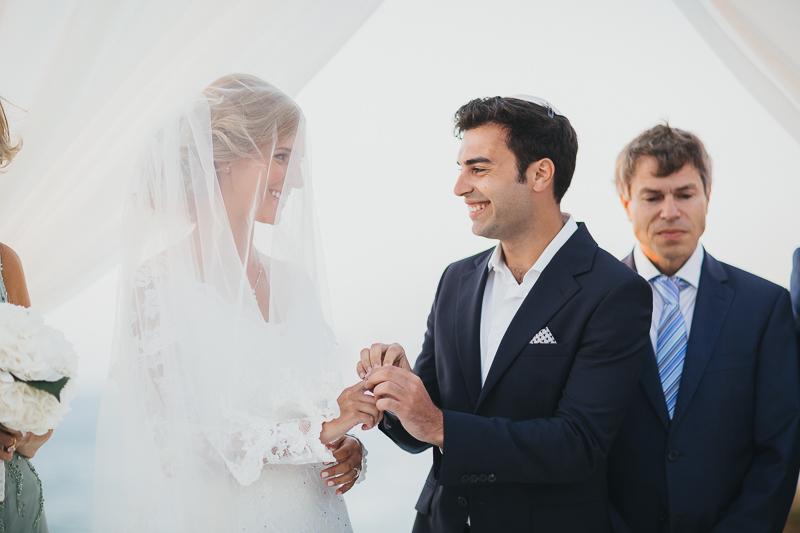 מלאני ודניאל חתונה בבית על הים לירון אראל צלם 0049