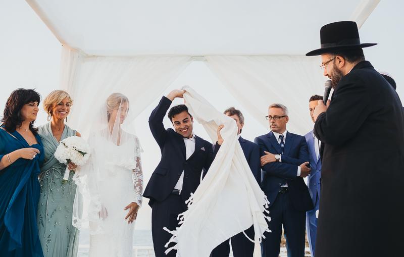 מלאני ודניאל חתונה בבית על הים לירון אראל צלם 0050