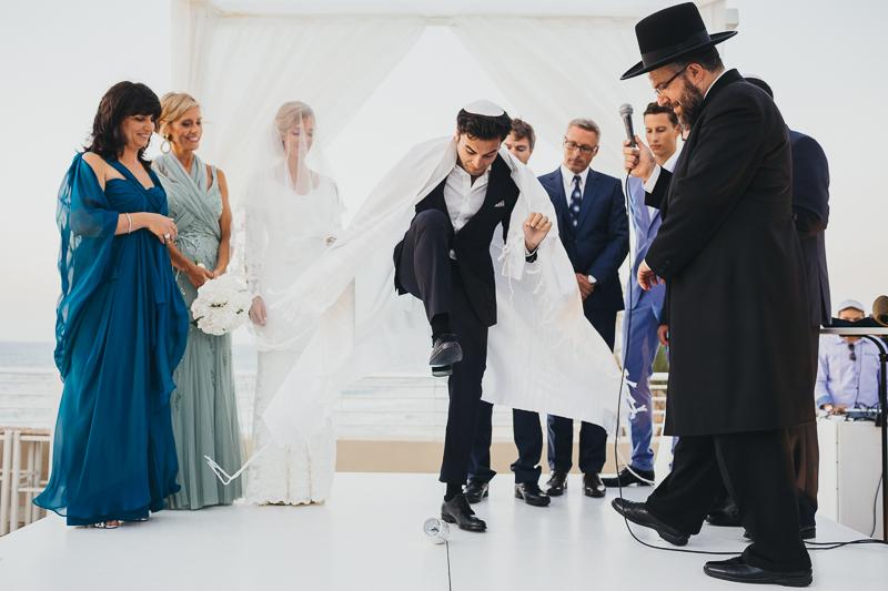 מלאני ודניאל חתונה בבית על הים לירון אראל צלם 0051