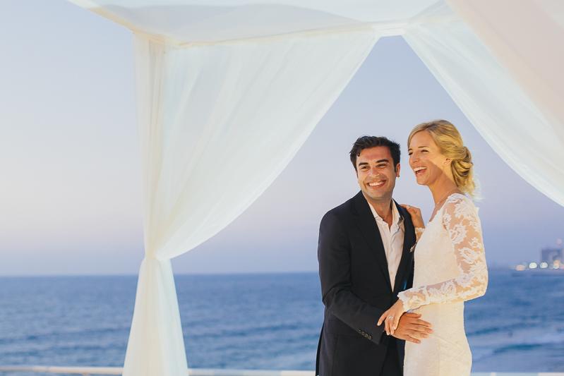 מלאני ודניאל חתונה בבית על הים לירון אראל צלם 0057