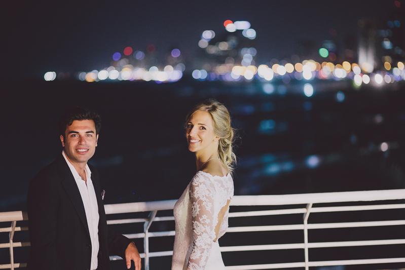 מלאני ודניאל חתונה בבית על הים לירון אראל צלם 0067