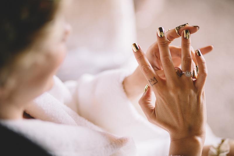 bridal nail polosh