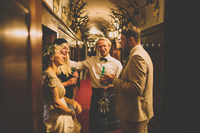 Wedding in Blair Atholl by Liron Erel