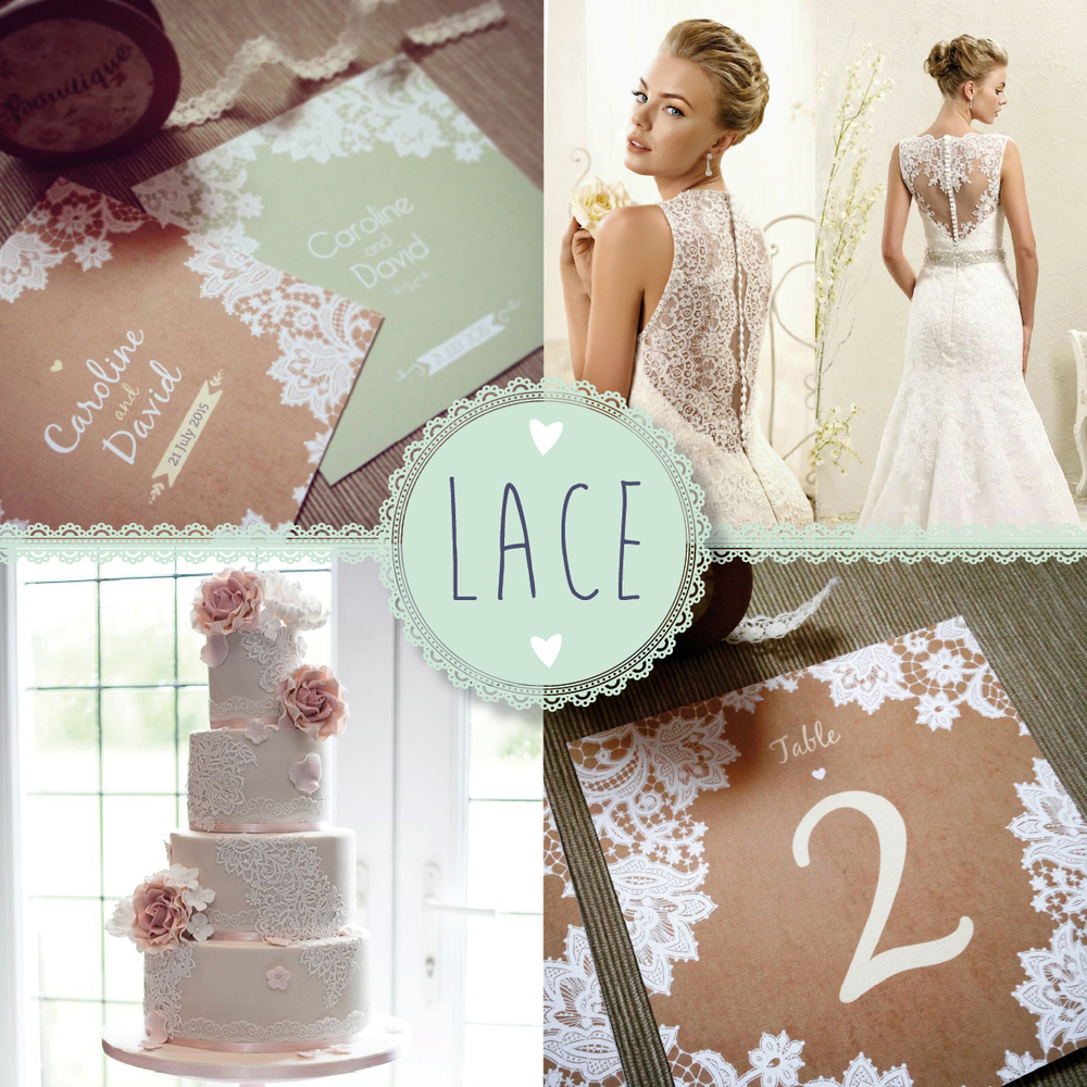 Collaboration – Lace theme