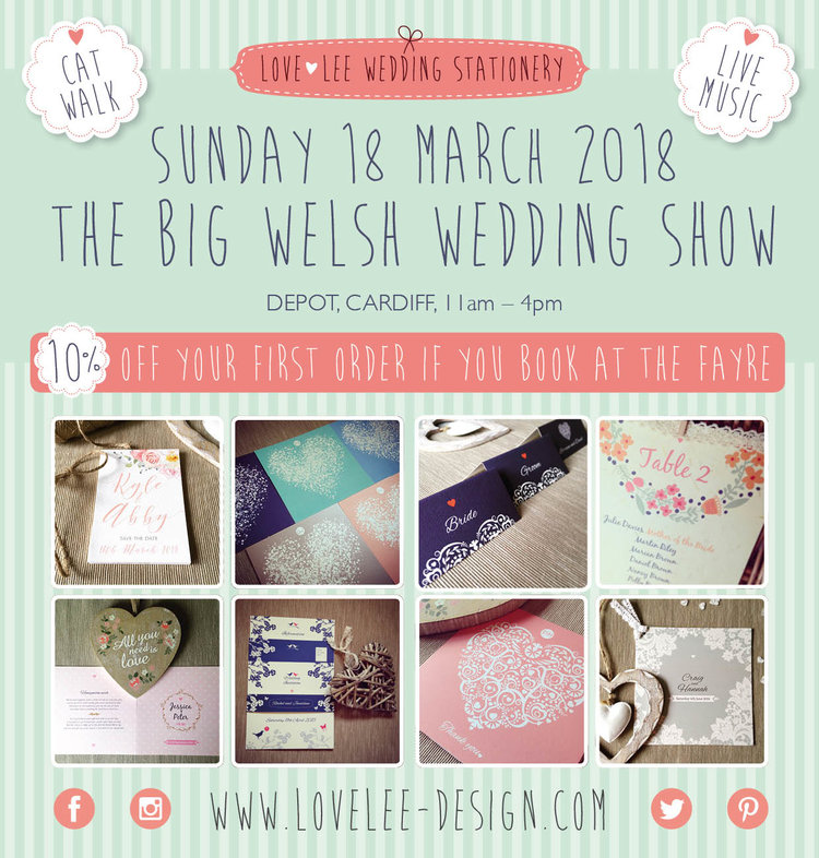 Love-Lee Wedding Stationery — Folded Invitations