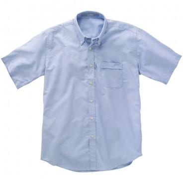 Gill Oxford Shirt Blue SS.jpg
