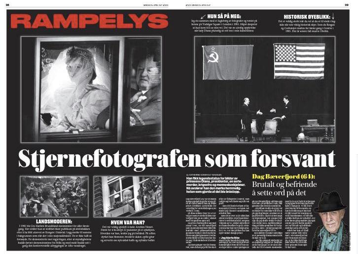 DagBæverfjord dukket sterkt opp på Fotografihustes fotofestival.
