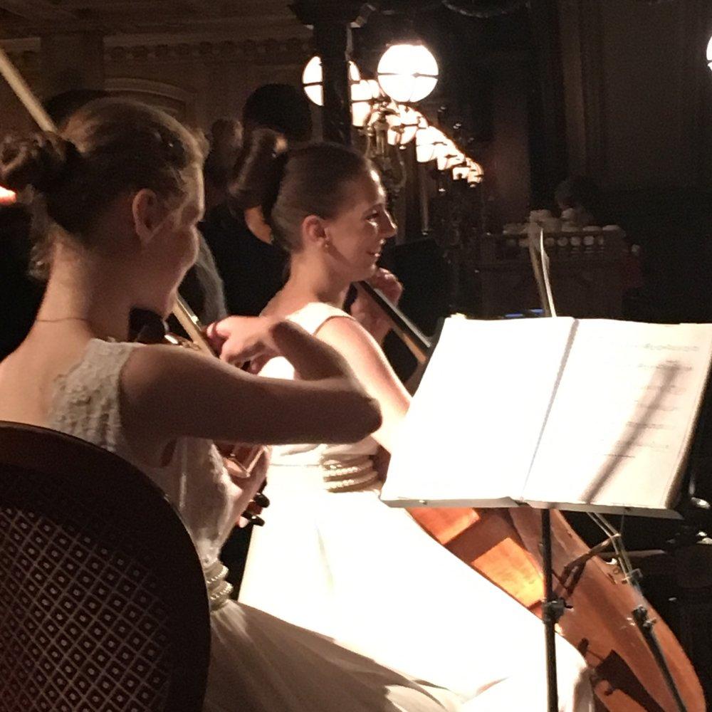 #Violin #CafePushkin