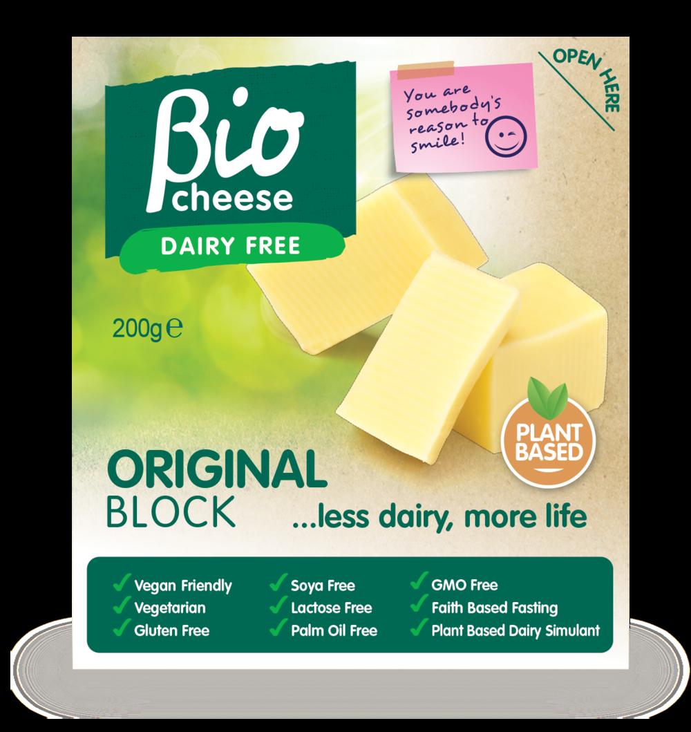 bio cheese original block vegan cheese