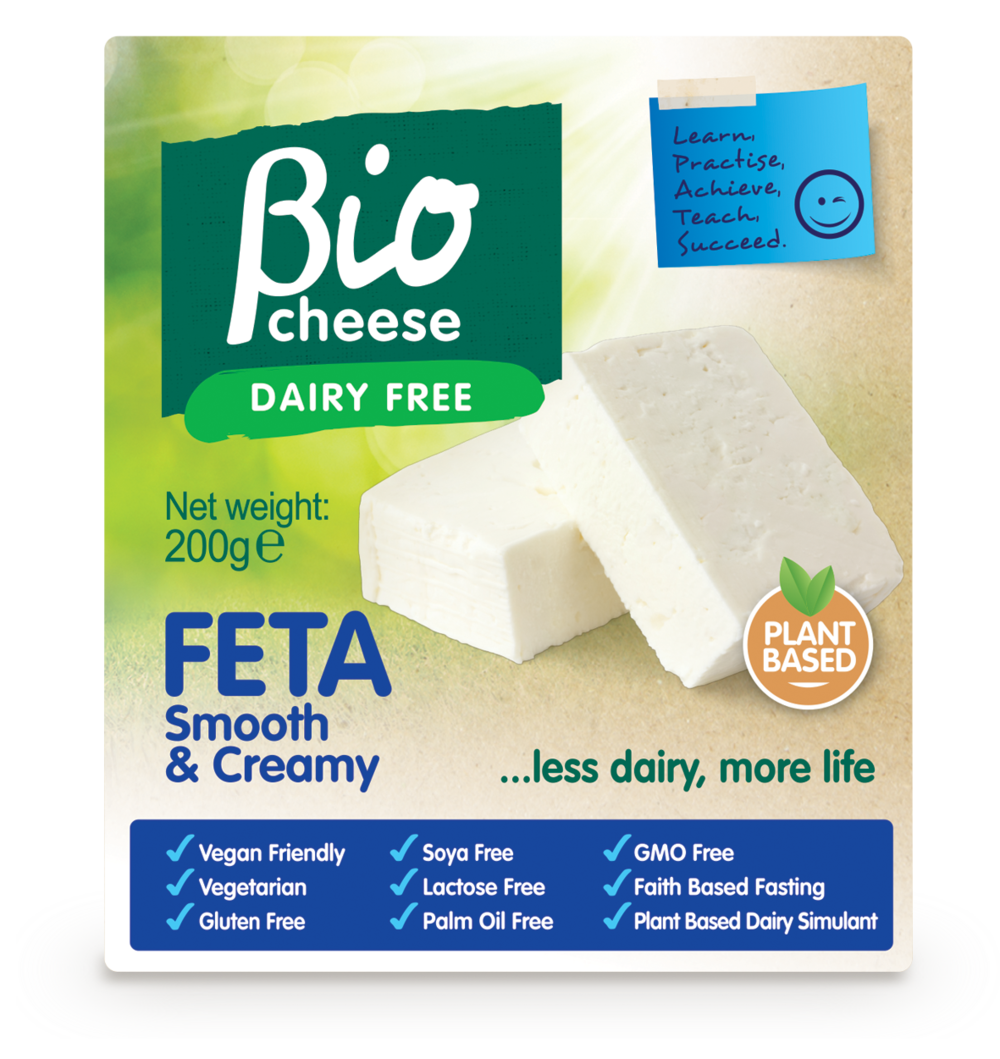 my life bio cheese feta vegan