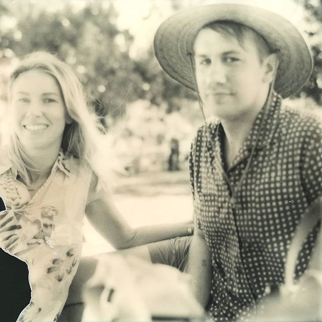 Page and Steven, a fellow Texan and neighbors twice over, at the lake near our block #sx70 #polaroid110a . . . #polaroidoriginals #polaroidphoto #polaroid #polaroidportrait #friends #sfbayarea #bayarea #lakemerritt #oakland #blackandwhiteportrait #blackandwhite #portraitphotography #blackandwhitephotography #lightleak #california #summer #summervibes #vintagecamera #strawhat