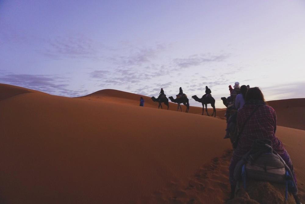 Erg Chebbi Dunes, Merzouga, Morocco