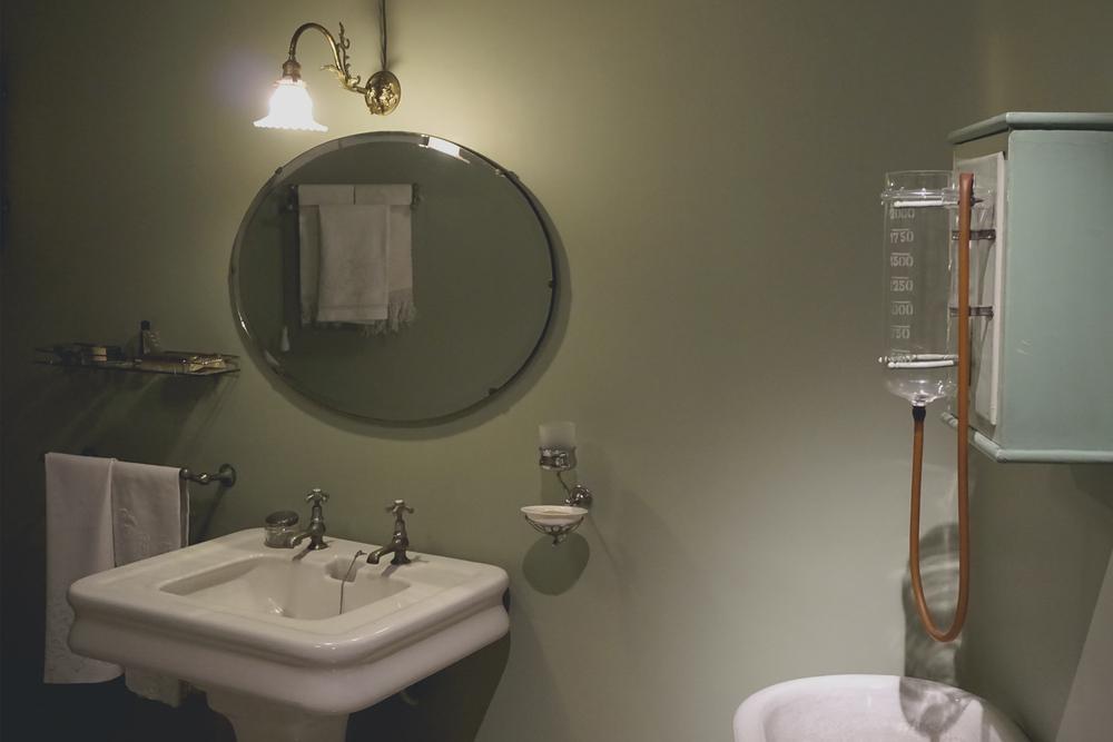 Apartment Bathroom, Casa Mila La Pedrera, Barcelona Spain