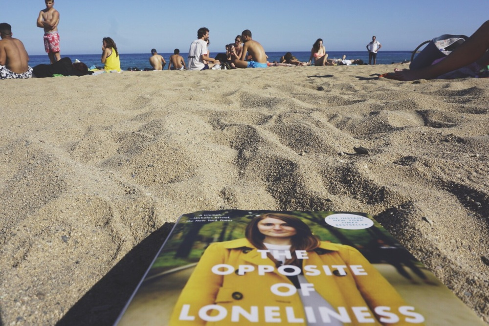 More people than last time, Beach, Barcelona, Spain