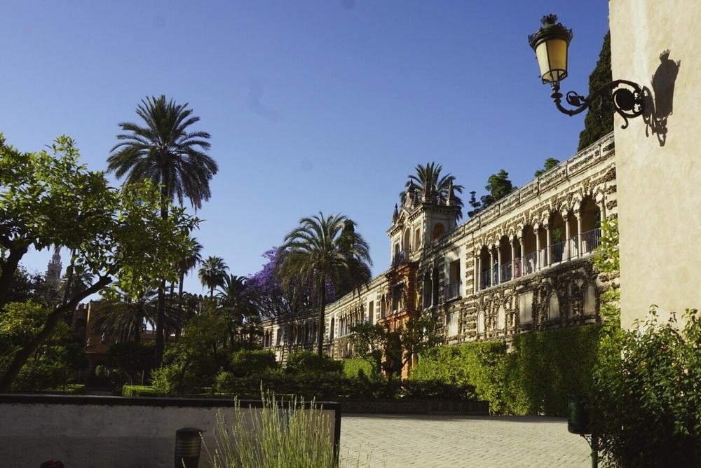 Alcázar de Seville, Seville, Spain or the Water Gardens of Dorne