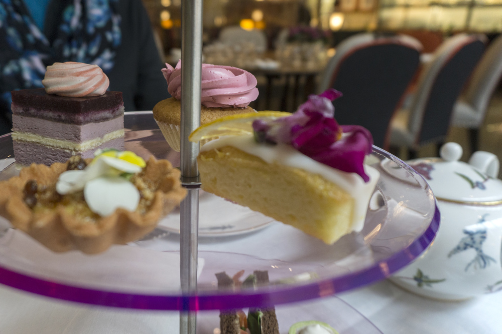High tea treats, Ham Yard Hotel, Soho, London, England