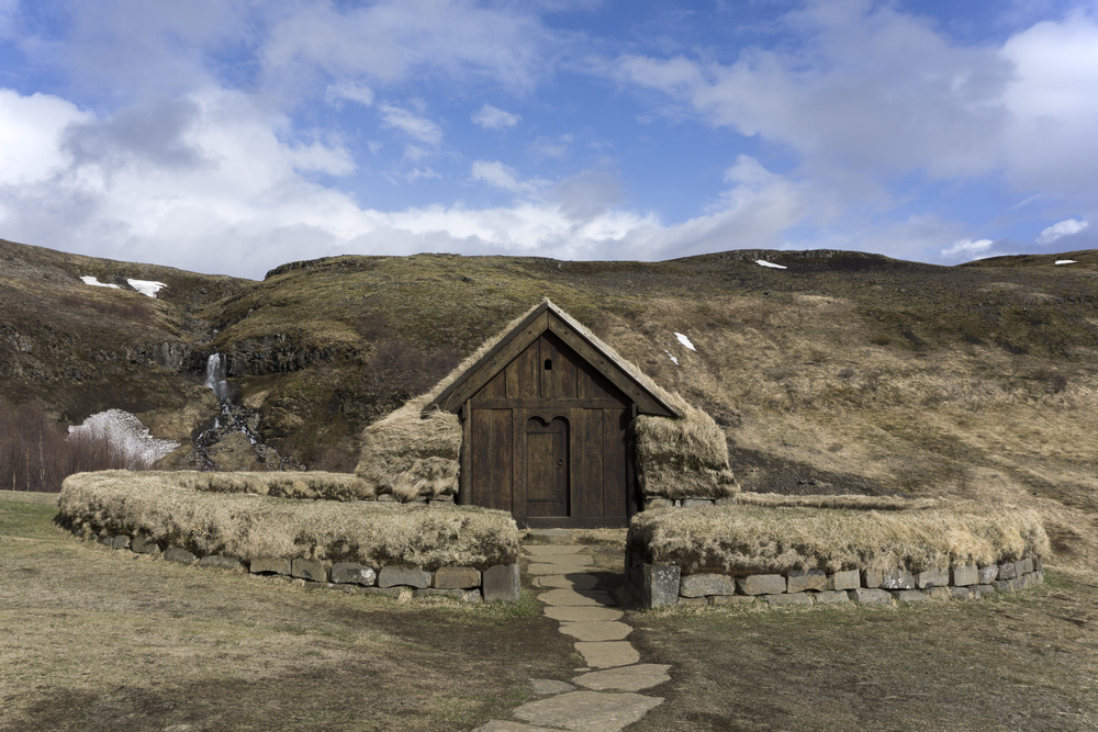 (Replica) Viking Settlement, South, Iceland