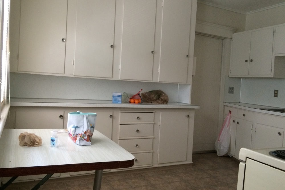 kitchen, in love with all the cabinet space
