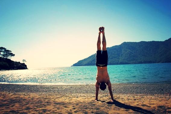 Dubewegst externe Gewichte, hast deinen eigenen Körper aber nicht unter Kontrolle?