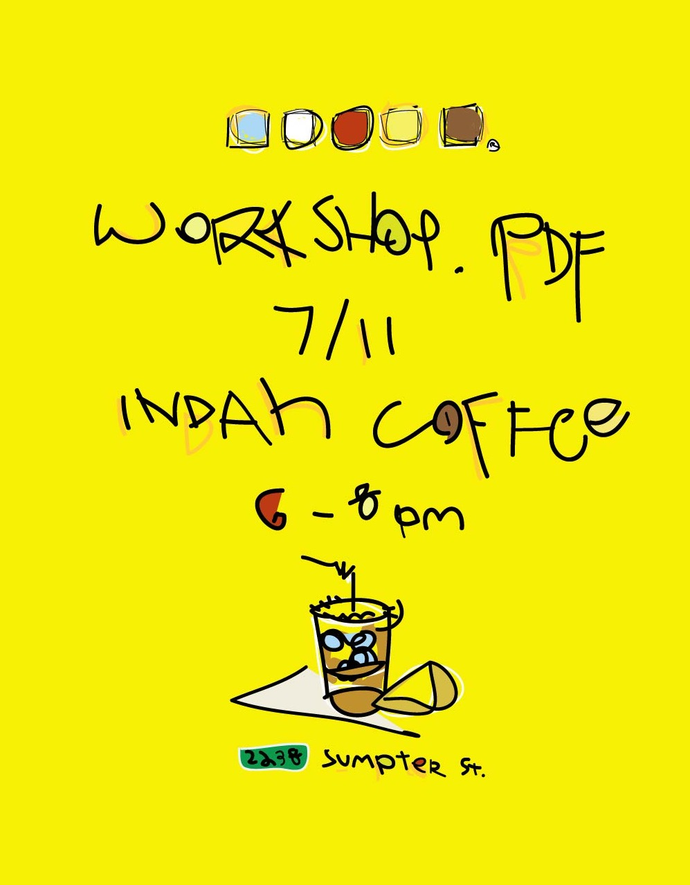 Workshop.PDF #1 Flyer Front