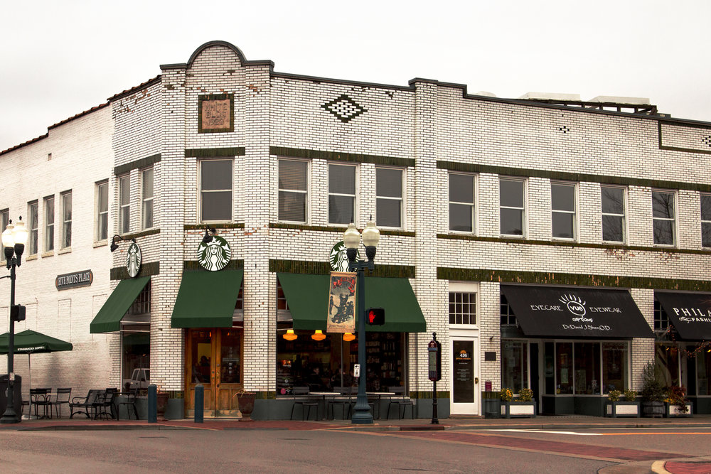 The White Building at Five Points