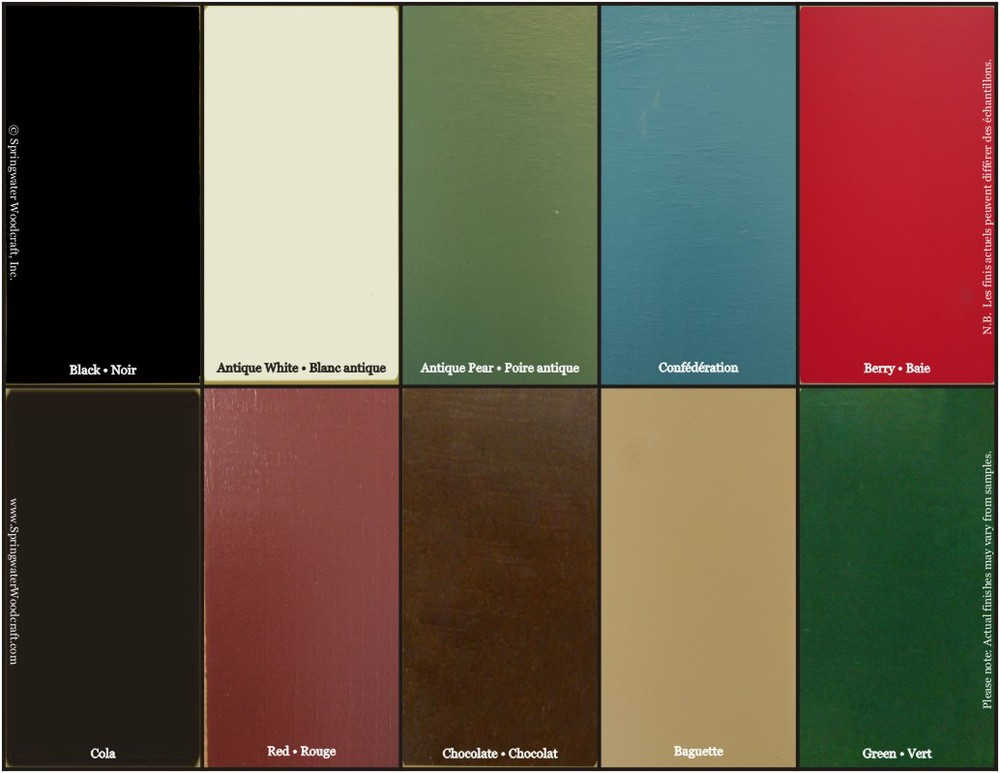 Colours (standard)