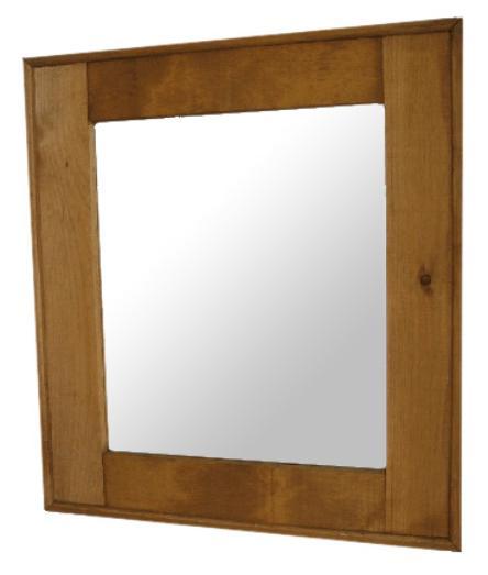 602 Wide Frame Mirror — Springwater Woodcraft