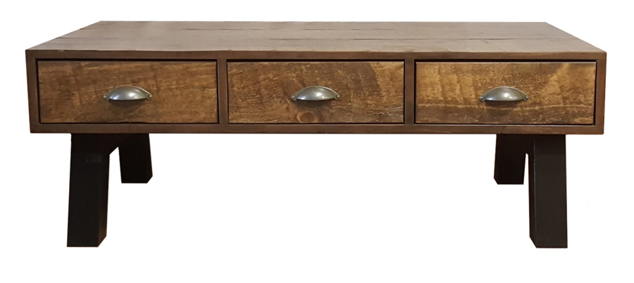 #361 Hudson Coffee Table - Overall dimensions: 48