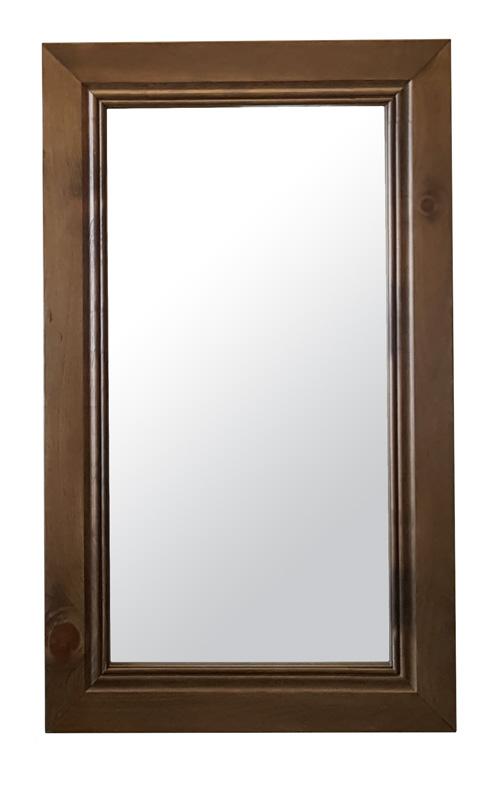 #654 Classic Mirror - Overall dimensions: 24