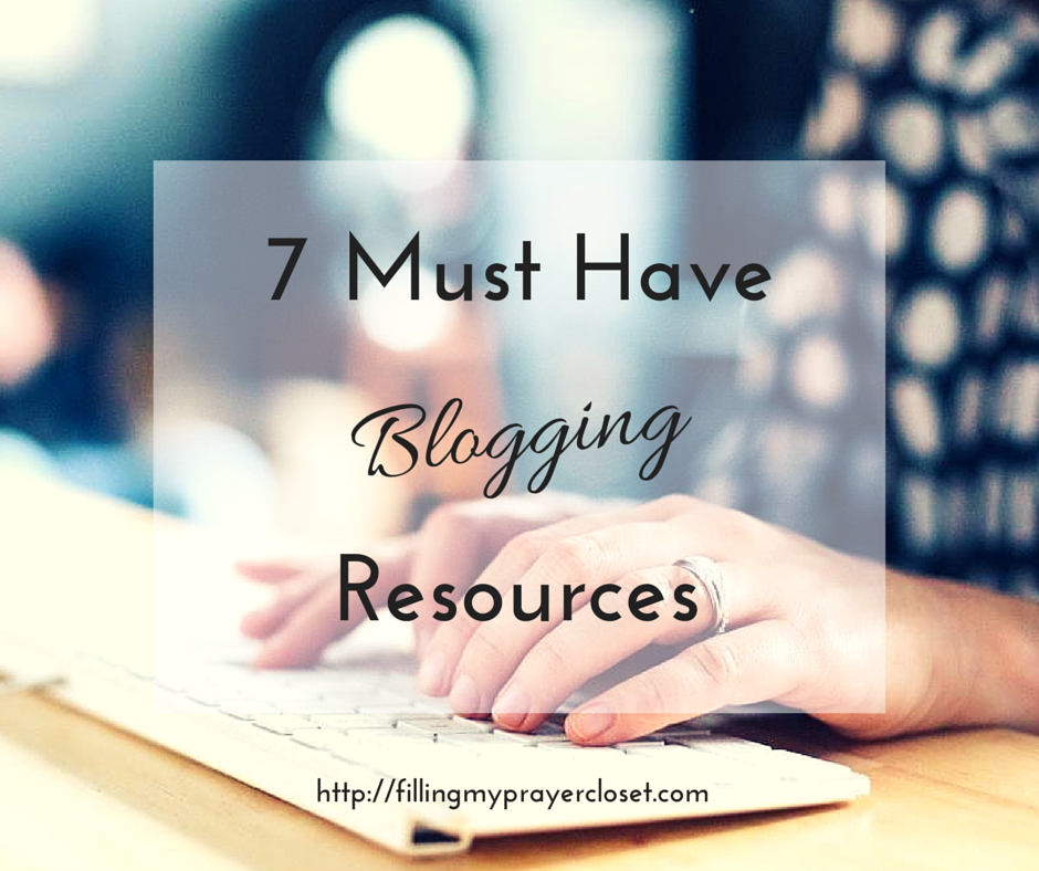 7 Must Have Blogging Resources sharing all the blogs I go to for the best blogging tips and tricks, blogging tutorials and social media tips. I even include some blogging books as a bonus! @fillpraycloset