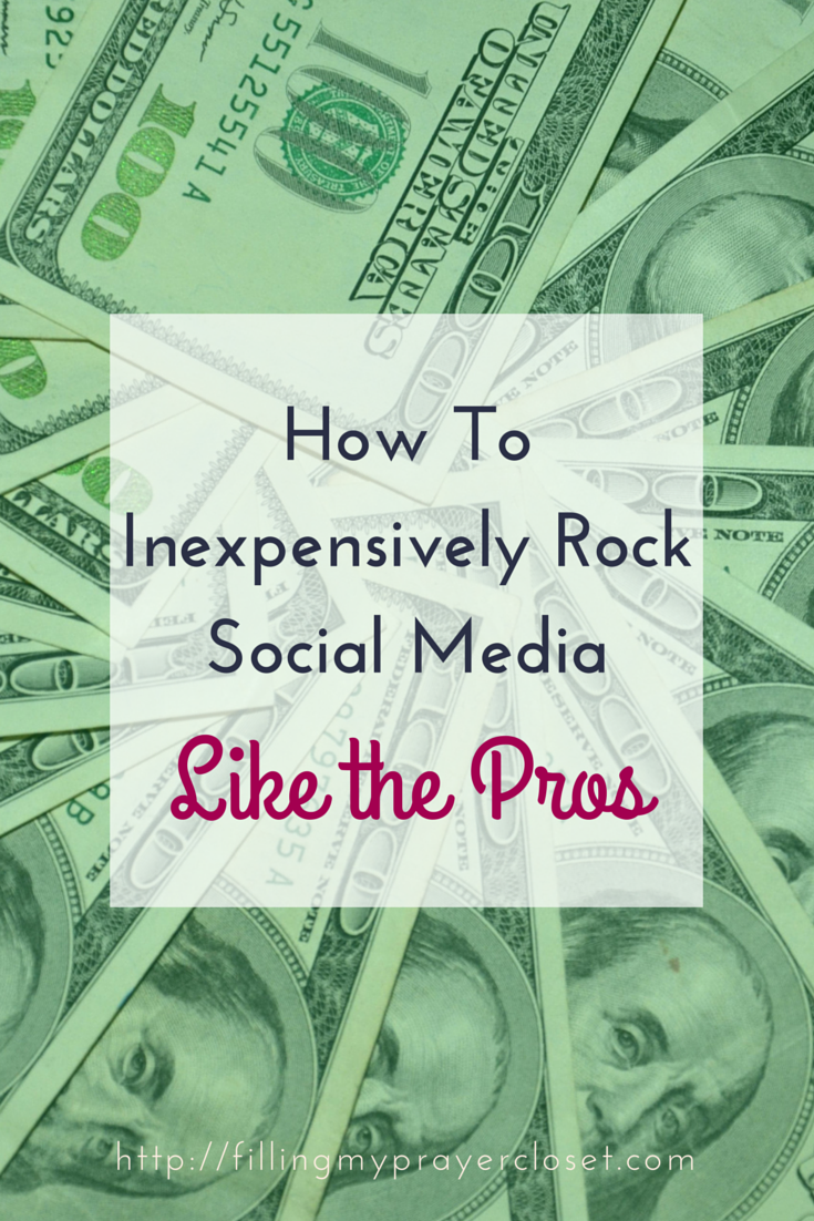 How to Inexpensively Rock Social Media Like the Pros. Sharing how I spend my money on a monthly basis using a strategic combination of paid and free apps by @fillpraycloset