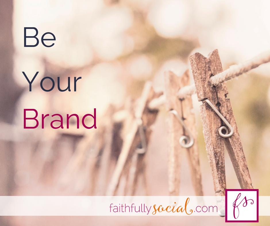 Be Your Brand Building a brand isn't really that hard. In fact, there's one branding question you can ask yourself every time you try to connect with other bloggers, creatives or just people a video post by @faithfulsocial