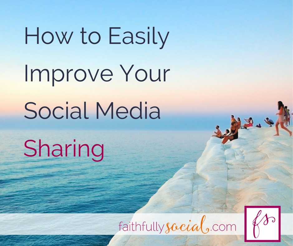 How To Easily Improve Your Social Media Sharing using a scheduling tool. Or how I cheat on Hootsuite with Buffer to achieve awesome social media sharing results by @faithfulsocial