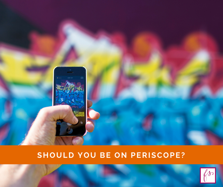 Surely you've heard about the live streaming app called Periscope? Apparently, it's the closest thing to teleportation this side of The Jetsons. In this post, I share some links to great Periscope tutorials, provide Periscope tips for bloggers along with my thoughts on whether you or not you should jump on this new social media channel. by @faithfulsocial