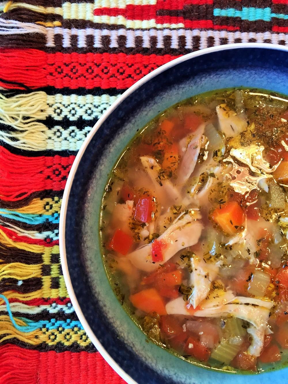LooneySpoons Chicken Soup