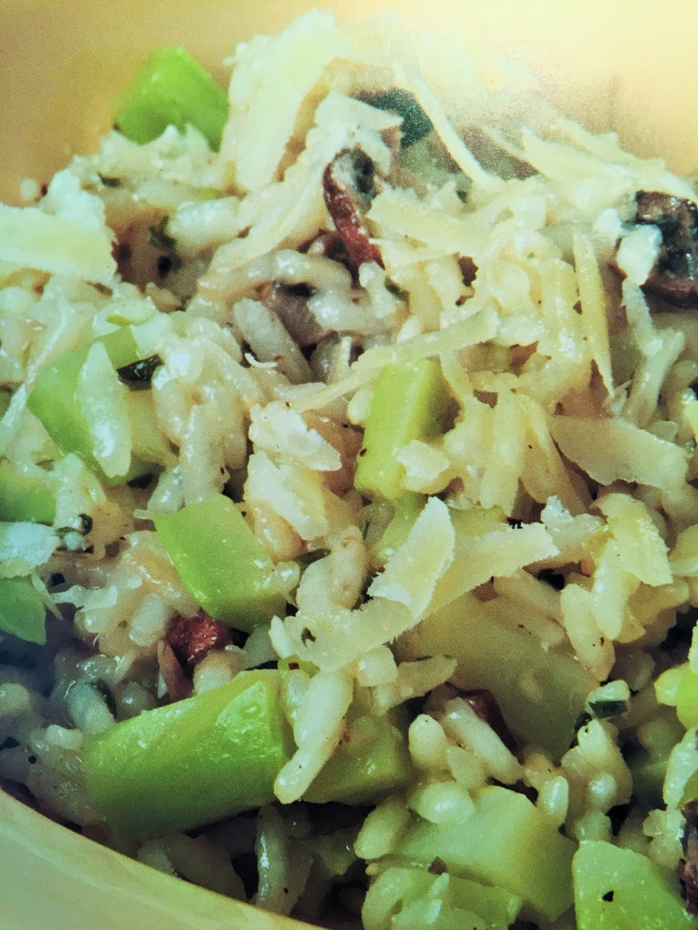 Risotto with Broccoli Stalks