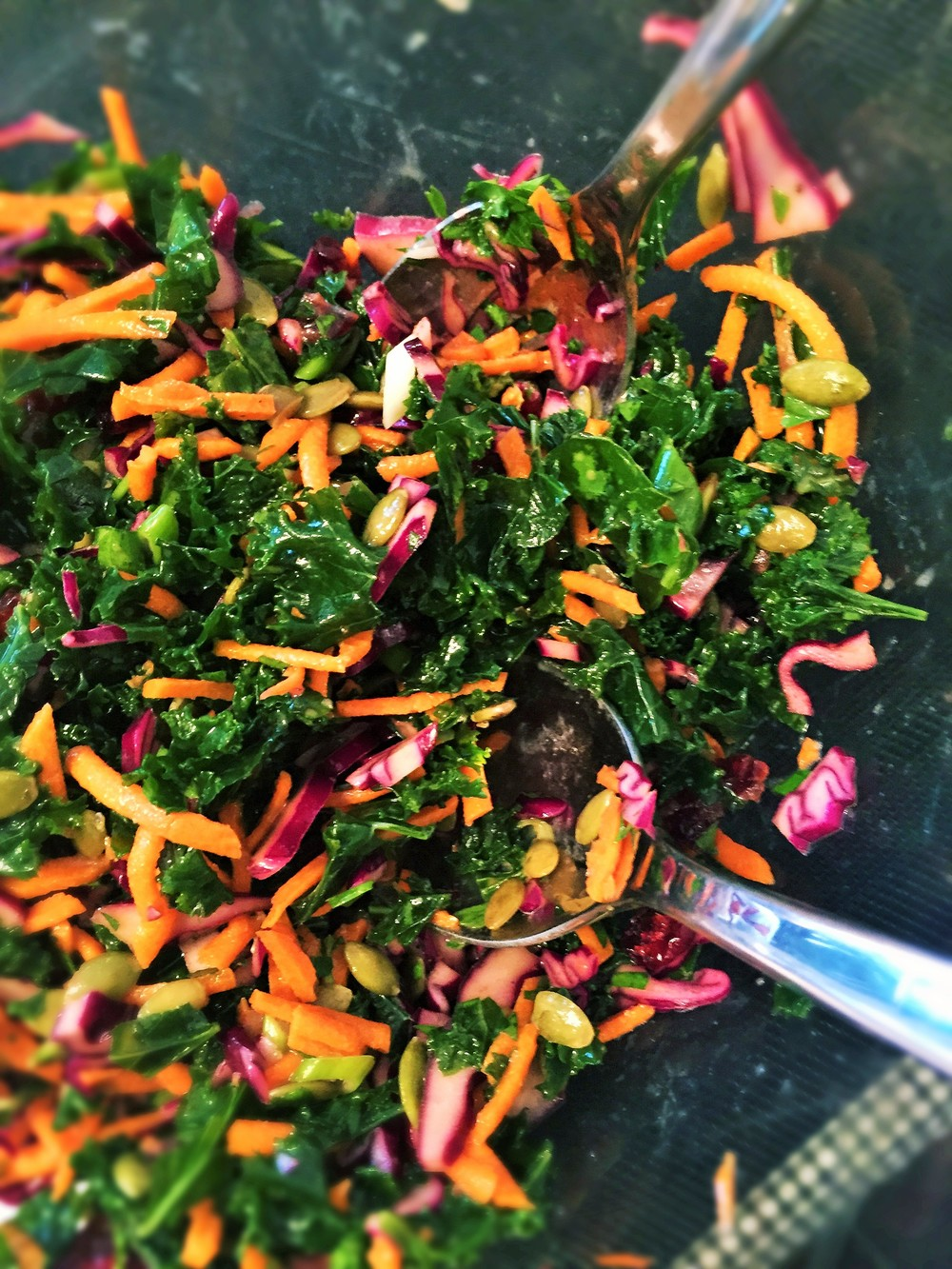 Festive Kaleslaw Salad
