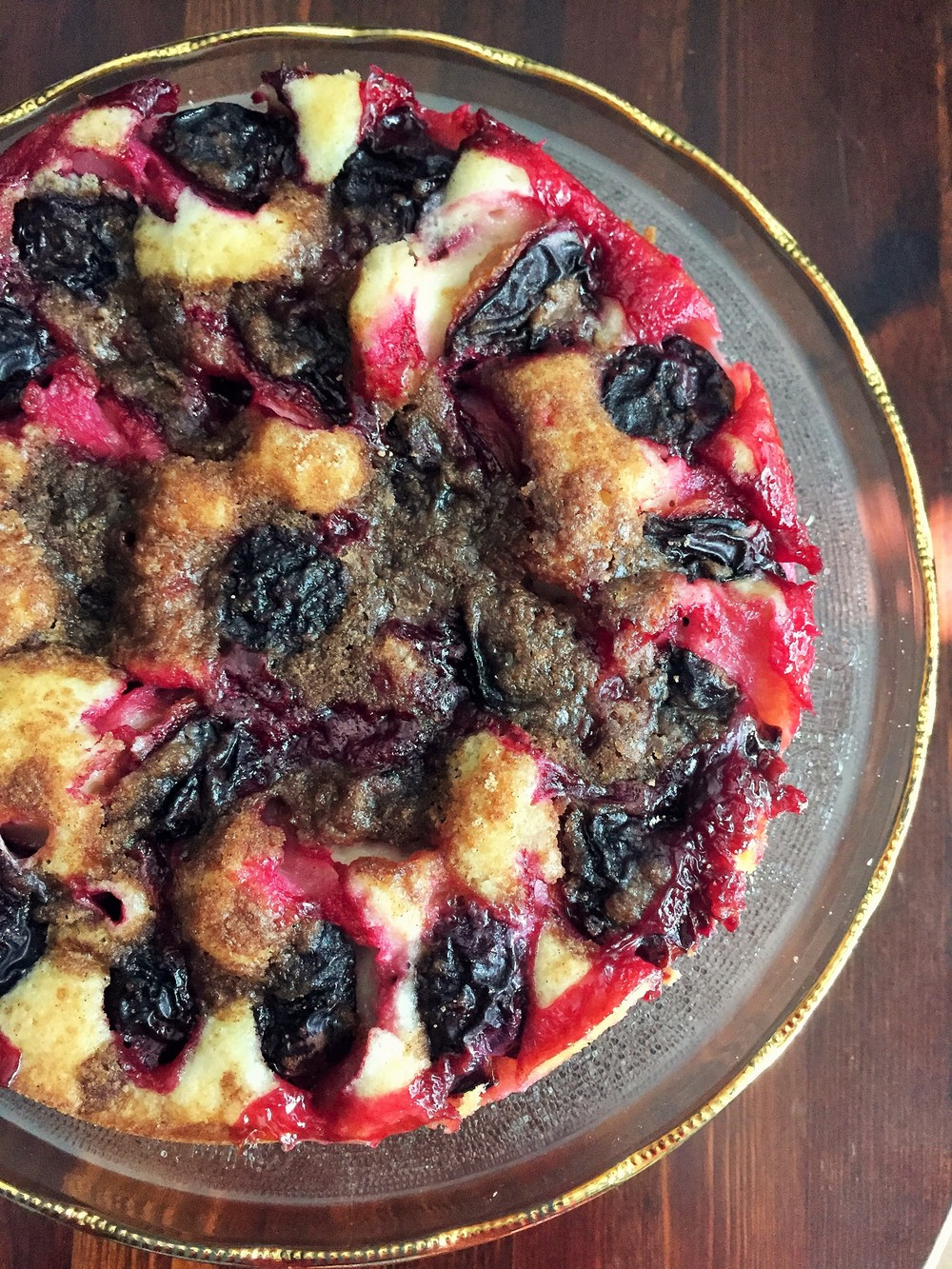 Party Plum Cake