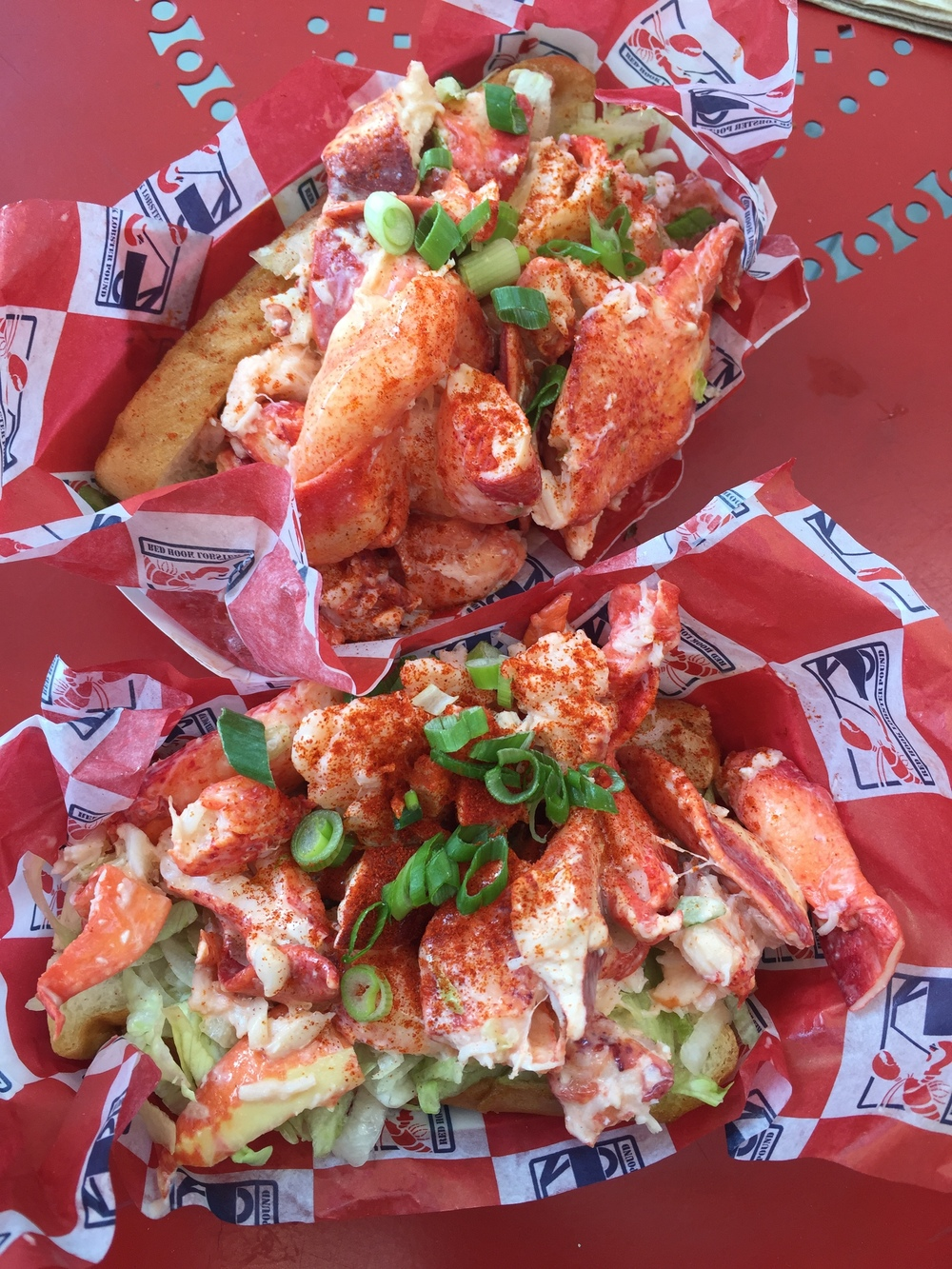 Red Hook Lobster Roll: Southern Seaport Smorgasburg
