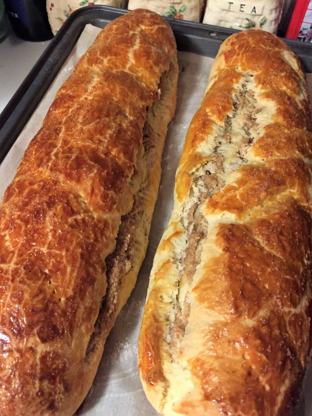 Walnut roll / Beigli - ok..., but...